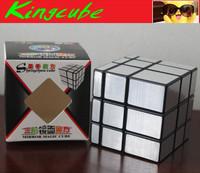 Shengshou Mirror Cube Silver Black