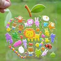 Cartoon sticker \ early childhood cartoon stickers \ preschool animal cognition jam \ Free shipping