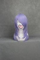 Pandora Hearts-Echo Straight Cosplay Costume Wig 18inch (Silver Purple)