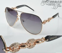 Gg4230 women's luxury beautiful sunglasses Women sun glasses fashion diamond sunglasses sun-shading mirror