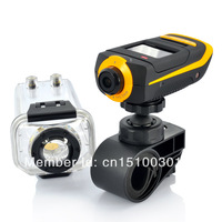 160 degrees with remote control HD1080P  waterproof camera movement/ DVR  Sports camera/Waterproof camera movement