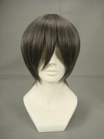 Costume Party Ash Gray Cool Boy Wig