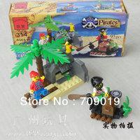 Christmas gift Free Shipping Enlighten Child designer 314 corsair pirates toys Building Block Set Brick Toy Toys for kid Jigsaw