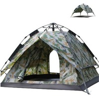 NEW 3~4 person automatic pop-up tent,army green camouflage tent,free shipping,have in stock