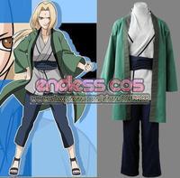 Naruto Tsunade 1th cosplay costumes anime Halloween   Christmas gift c5261 free shipping