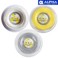 Alpha alpha vengeance 200m tennis ball line dapan 17 polyester line