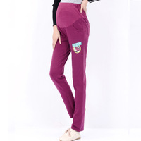 Maternity pants trousers maternity clothing autumn fashion sports pants maternity belly pants casual pants legging