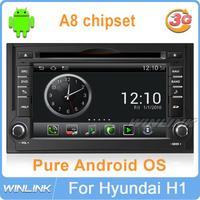 Pure Android 4.0 For Hyundai H1 i800 imax Starex iLOAD Car DVD GPS Headunit 1G CPU 512M DDR RAM Radio Bluetooth BT Phone USB SD