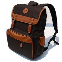 Vintage preppy style casual canvas backpack child school bag primary school students travel bag fashion