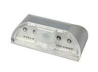 Free shipping, New 4 LEDs PIR Auto Sensor Motion Detector Energy Saving Emergency light AA Battery