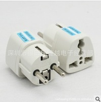 Free shipping  European standard multi-function plug France South Korea Russia plug