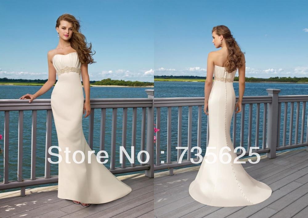 vendita calda nuovo sirena elegante ferroviaria tribunale appliques spiaggia di abiti da sposa scoop pulsante libero dimensioni