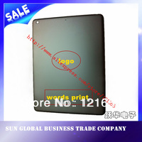 Free shipping For ipad5 wifi version case  aluminium back  cover Rear housing white black color