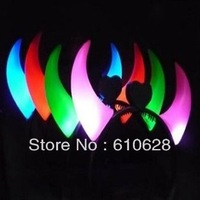 Light-up toy light emitting horn lamp horn lamp luminous devil horn hair band