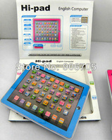 Free shipping,Hi Pad English educational toys For Kids,Y PAD  Learning Machine ,4 Colours  Mixed,Music & Light,60PCS/Lot