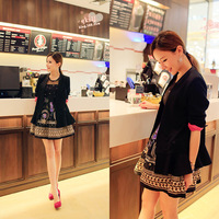 Free Shipping 2013 slim ol ruffle dress suit small jacket