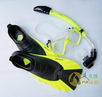 LOYOL full dry snorkel goggles flippers snorkeling Sambo three-piece sets of equipment