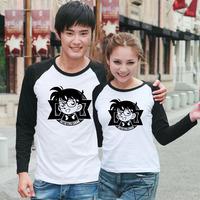 Spring and autumn 708090 autumn long-sleeve t-shirt lovers long-sleeve T-shirt