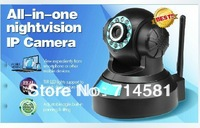 Promotion! Free Shipping IR Night Vision Internet Wifi Wireless Network H.264 P2P IP Camera Surveillance Smart Baby Monitor