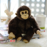 Natural small wwf oralogy plush toy monkey artificial animal doll