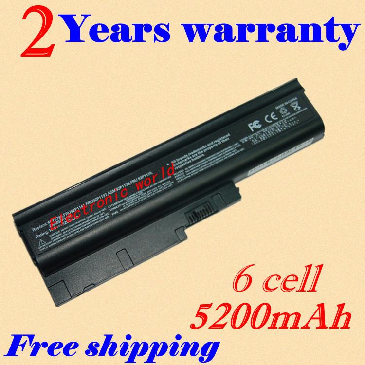 4400mAh T60 Laptop Battery For IBM 40Y6799 92P1138 92P1140 92P1142 42T4504 42T4513 42T5233 92P1137 92P1139 92P1141(China (Mainland))