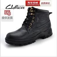 Free shipping genuine warm winter plus cotton shoes snow boots Martin boots men fashion boots quality