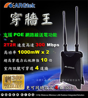 Free shipping Arg-1210 high power wireless wifi router ap poe