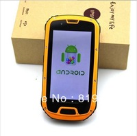 "Free shipping For Enjoy Original S09 Quad core Android 4..2 4.3"" QHD MTK6589 Waterproof Shockproof 3G  IP68 Rugged Smart phone"