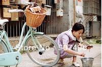 Best Selling!  Bicycle liubian basket bicycle front basket folding bike c basket  +Free Shipping