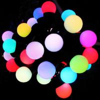 Free shipping 5m 50leds 220v outdoor lighting 220v light christmas, wedding string light led +  EU plug