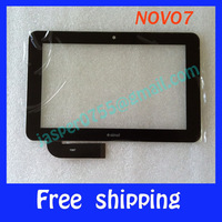 Original 7'' Capacitive Ainol Novo7 Novo 7 Aurora 2 ii Tablet PC LCD touch screen digitizer touch panel glass code:7087