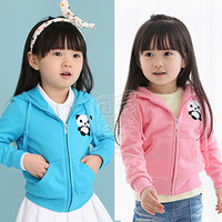 2013 autumn and winter boys girls clothing child fleece with a hood outerwear wt-0554