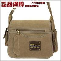 Men's Retro Classic Small Casual Vintage Shoulder Messenger Canvas Bag  freeshipping
