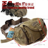 Man bag waist pack male chest pack casual female outside sport waist pack canvas male bag waist pack multifunctional