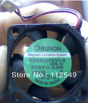 2506 5v 0.8w kd0502pev1-8 mini cooling fan