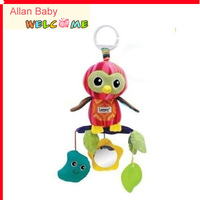 Free Shipping Infant Kids Lamaze Classical Cute Parrot Developmental Educational Baby Toys Cute Gift