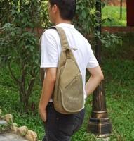Aerlis canvas cross-body bag chest man bag cross-body bag chest female casual bag