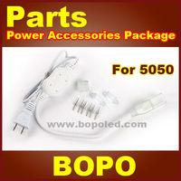 LED strip power plug for SMD5050 high voltage led flexible strip