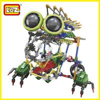 Loz  Robot  DIY Building Blocks Sets Motor children's toy robots  EducationalBricks Toys Children Christmas Gift 8 years old
