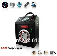 LED card speakers,Insert wheat stage light,multi-functional LED stage light with microphone