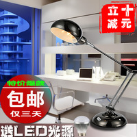 Modern brief metal table lamp work lamp led study lamp lamps