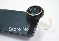 Top quality 235 degree clip universal fisheye lens for iPhone 4/4s 5 Samsung Galaxy S3 S4 Note2  HTC camera lens free shipping