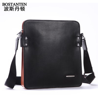 Male messenger bag leather bag business casual shoulder bag cowhide male bag man b10771 E75