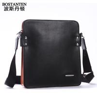 Male messenger bag leather bag business casual shoulder bag cowhide male bag man b10771 E75