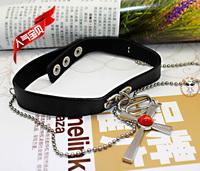 Free shipping Vampire Knight  Rosario and Vampire Akashiya Moka  COS the necklace Pendants