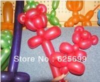 Free shopping 500pcs/bag Variety Magic Balloon DIY balloon long  holidays Supplies Birthday Decoration
