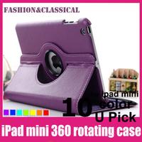 (1pcs/lot) for fancy ipad cases cute New Fashion Smart case for ipad mini