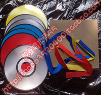 Paper bag heterochrosis cd discoloration cd stage magic discoloration props paper color changing magic props cd