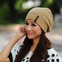Hot Sale 2015 Fashion hat  Women winter hat knitted hat winter hat knitted women's Free Shipping 3 Colors W4159