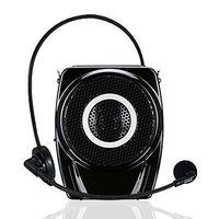 TAKSTAR E7M 15W mini Black fashion loudspeakers  Amplifier with mic mini voice megaphone for teaching meeting tour guide TF U
